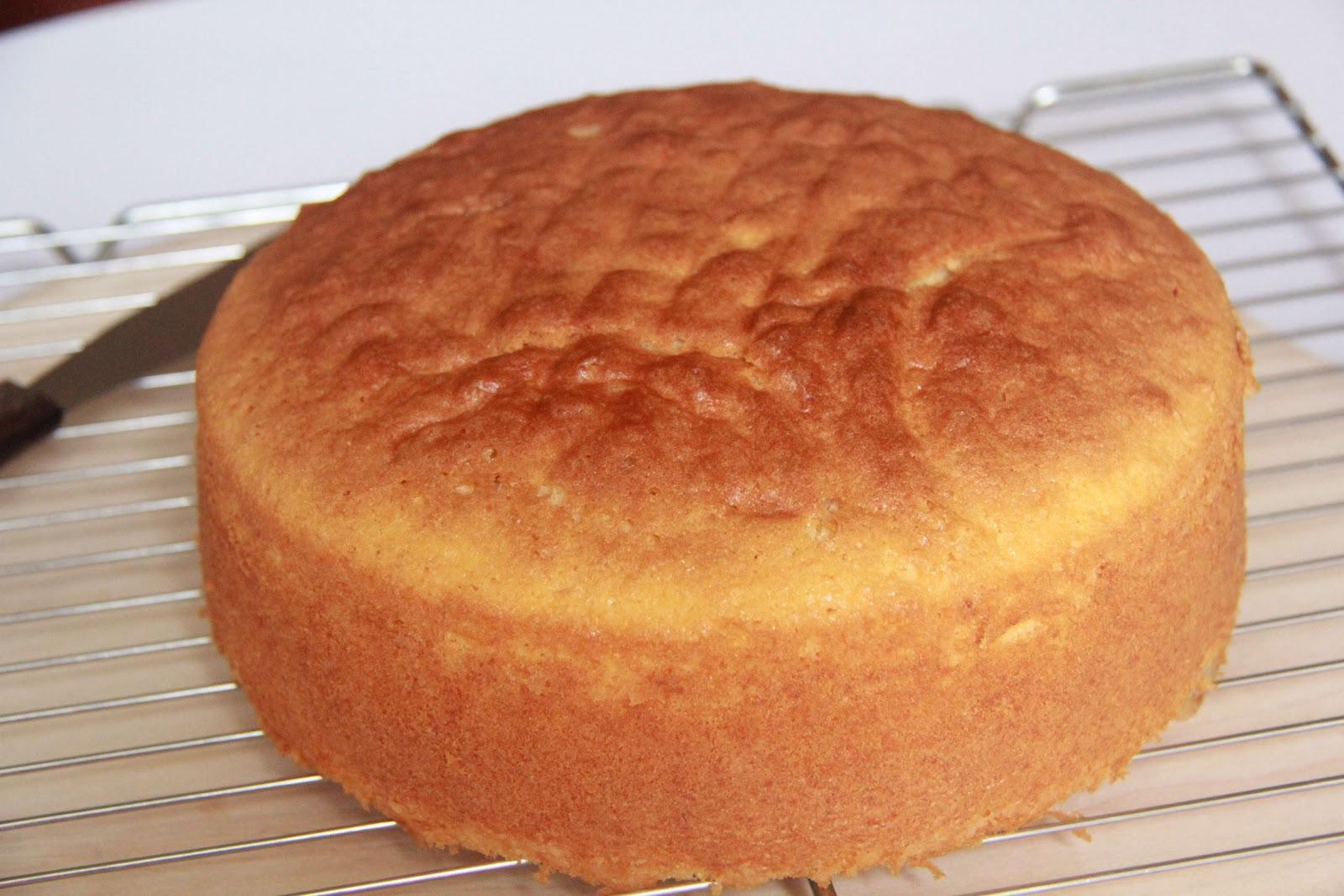 Recipe Light Fluffy Plain Cake: Simple Indulgence: Light Butter Cake