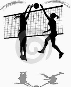 gambar gerakan passing bawah bola voli