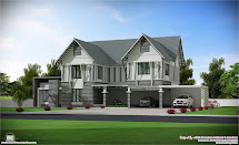 Sloping Roof Villa In 2700 Sq.feet Kerala House Design Idea