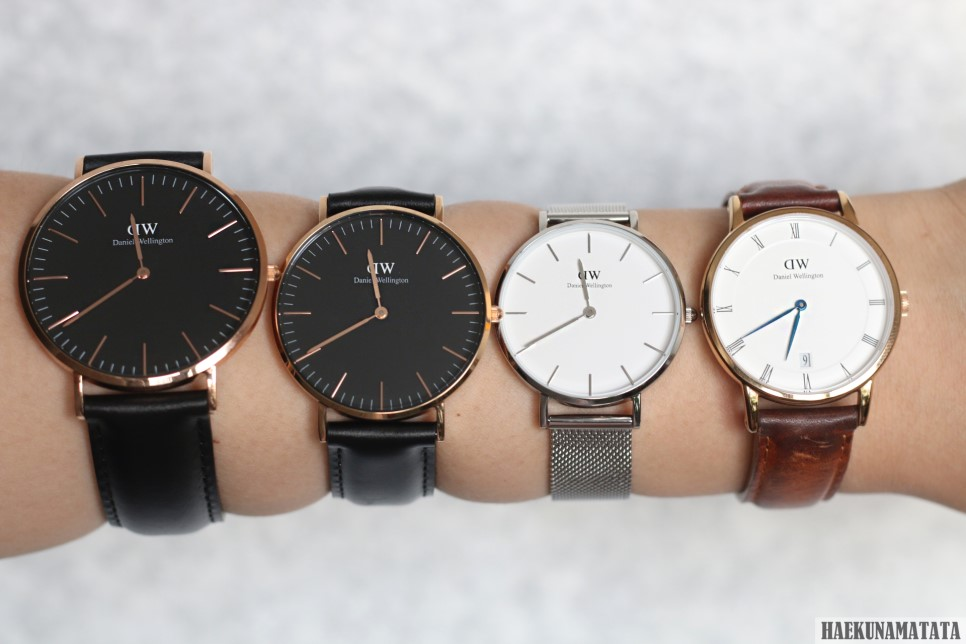 Daniel Wellington Classic Petite Sterling Review, Discount Code + Size Comparison