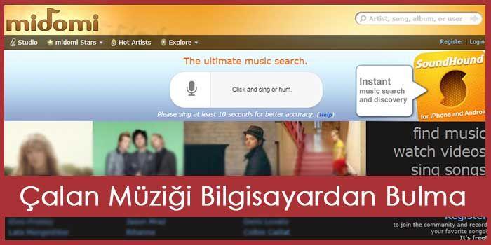 PC İçin Shazam Bilgisayardan Müzik Tarama