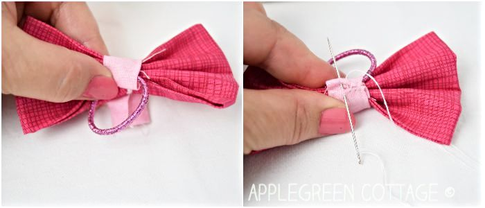 How To Make Hair Bows Applegreen Cottage