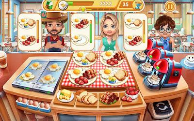 تحميل لعبة Cooking City apk مهكرة, لعبة Cooking City مهكرة جاهزة للاندرويد, لعبة Cooking City مهكرة بروابط مباشرة