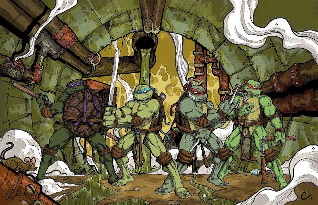 classic teenage mutant ninja turtles wallpaper
