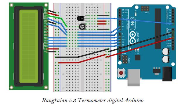 Termometer Digital Arduino