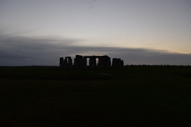 stonehenge evening sunset