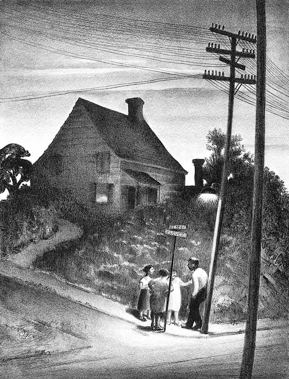 Mabel Dwight 1929 art