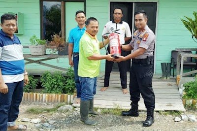 Antisipasi Karhutla, Polsek Kapuas Barat Giatkan Patroli Dialogis