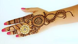 Latest & Easy Henna Design | Karwa Chauth – Diwali Special