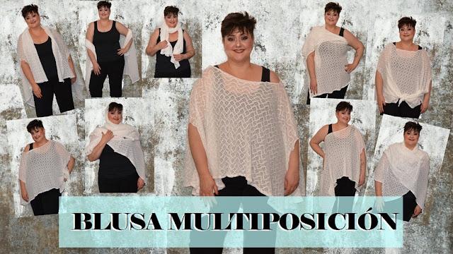 Diy blusa multiposición