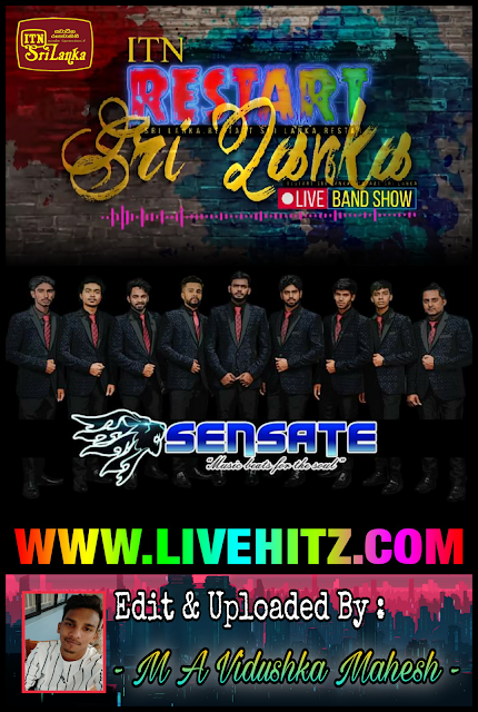 ITN RESTART SRI LANKA LIVE BAND SHOW WITH SENSATE 2020