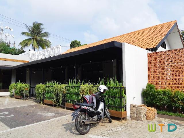 Desain Renovasi Cafe Holy Food Lampung