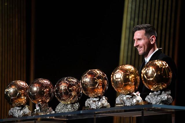 Kejuaraan Ke-6 Ballon d'Or Untuk Pemain Barcelona, Lionel Messi