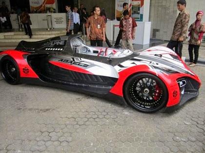 mobil listrik buatan Indonesia