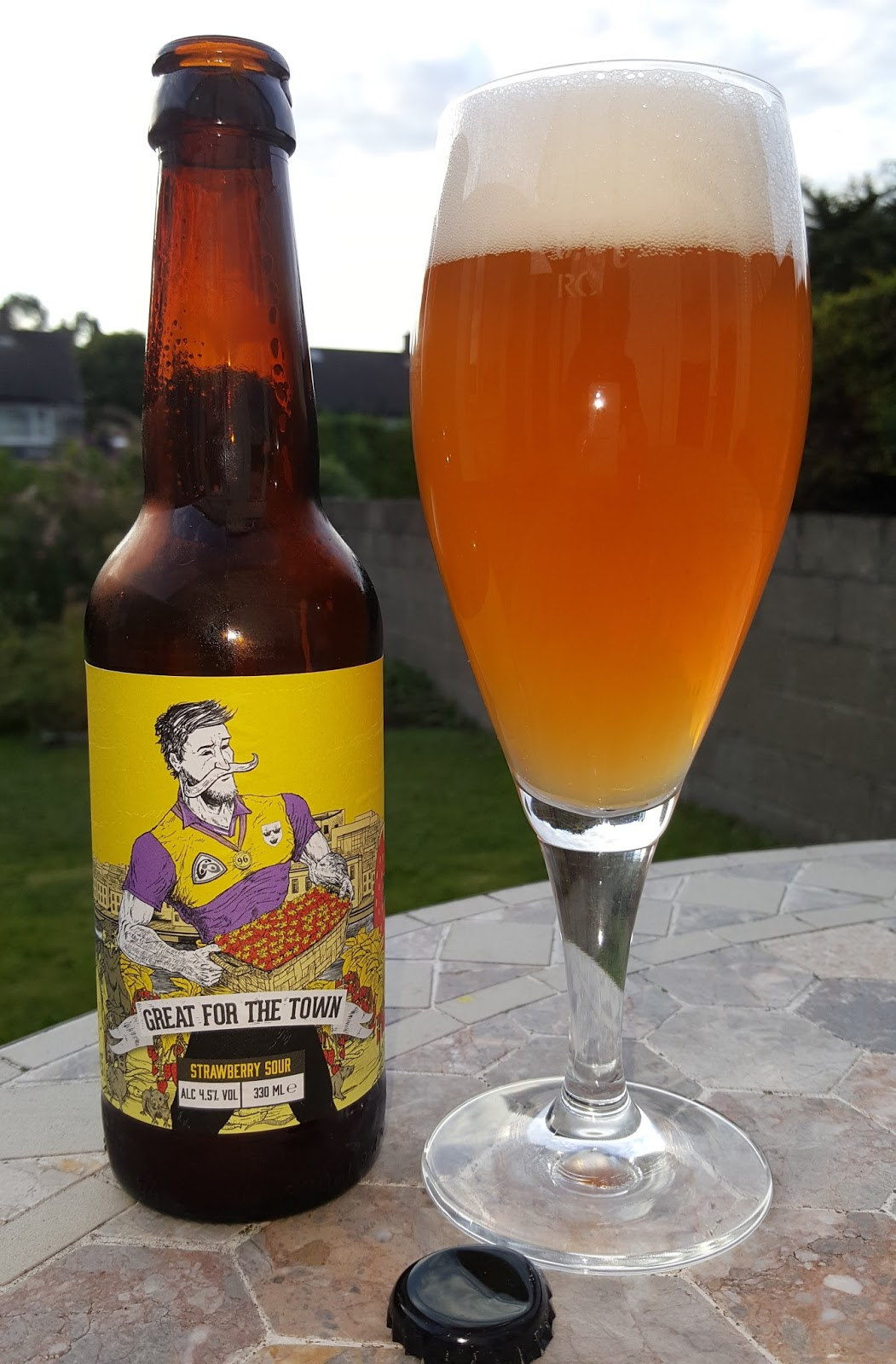 bb68e73f577afa Last of the set is the lightest: Great for the Town is just 4.5% ABV. It's  a non-specified style of sour beer with the inclusion of Wexford's  signature crop ...