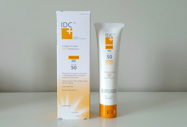 canadian Skincare 1) IDC Regen Express Perfection ($59.95) 2) IDC SPF 50 Facial Sun Protection Creme ($29.50) and 3) IDC Hydra Seal Healthy Glow ($49.95).