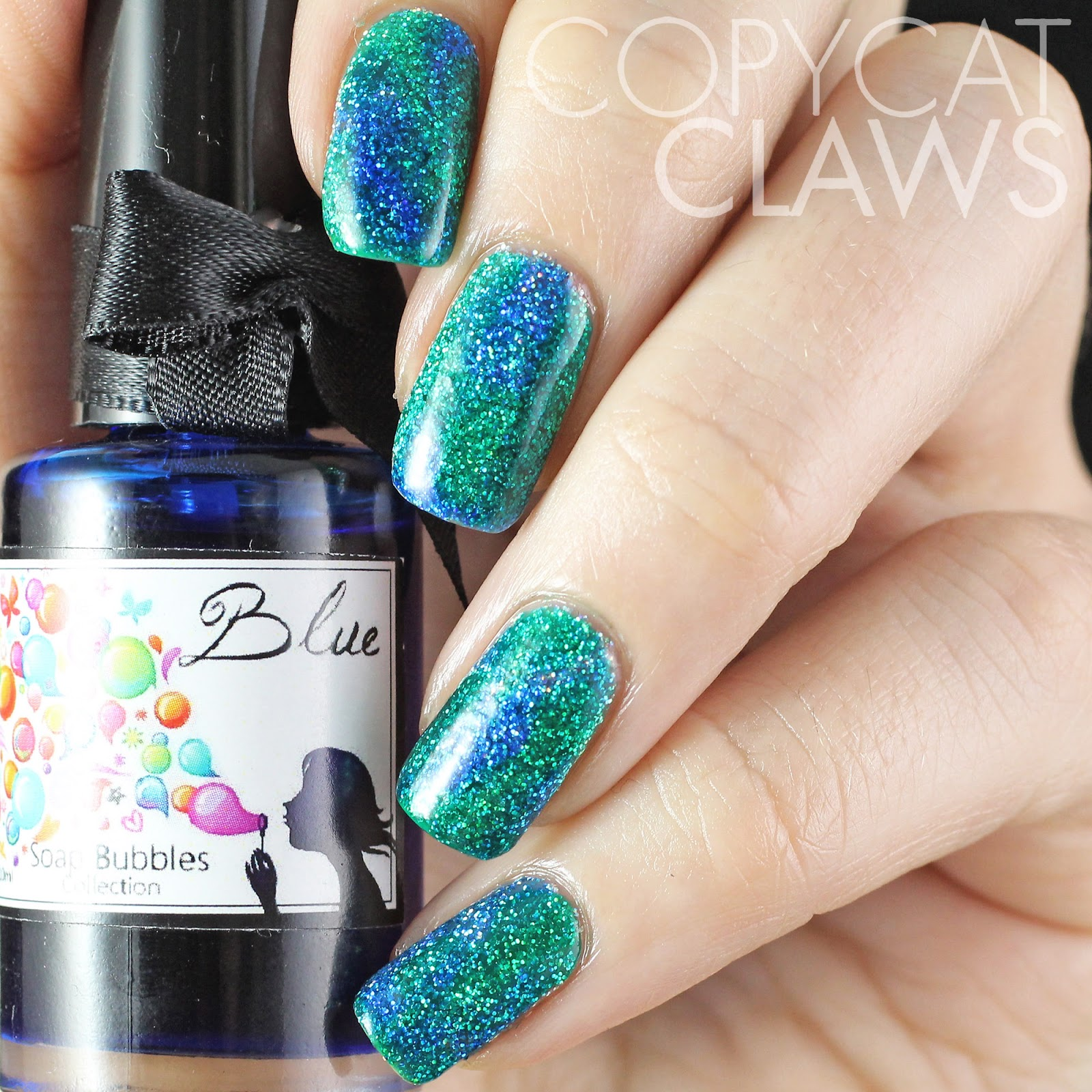 Copycat Claws: Nail Stamping over Glitter and Color4Nails ...