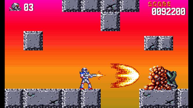Turrican Flashback gameplay on Nintendo Switch