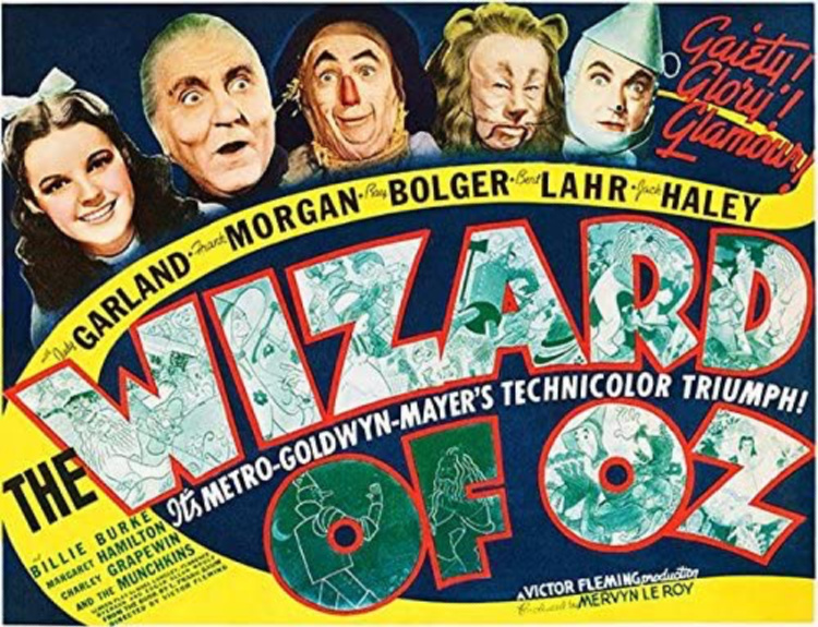 A Vintage Nerd, Vintage Blog, Old Hollywood Blog, The Wizard of Oz Review, Classic Film Blog