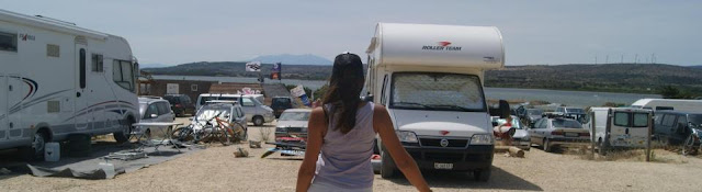 Leucate Wesh center crew camping car windsurf kitesurf julien taboulet caroline barbeau