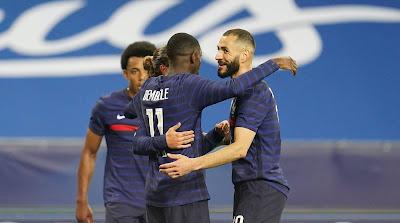 ملخص واهداف مباراة فرنسا وويلز (3-0) مباراة ودية