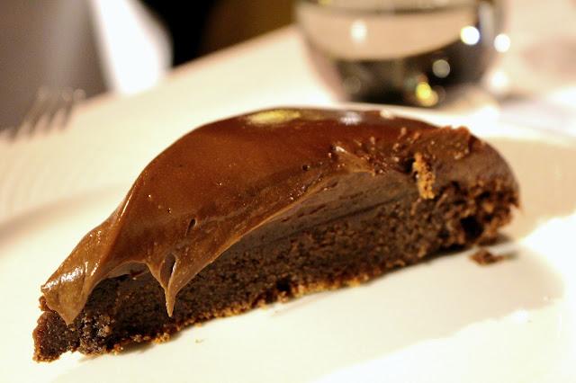 Bolo de chocolate amanteigado