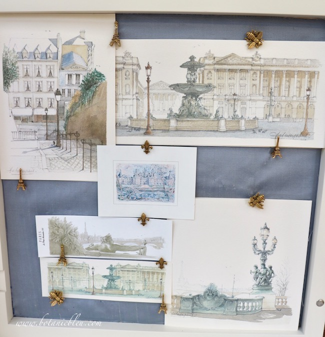 How to arrange prints in a shadowbox includes balancing the amount of background color with the prints