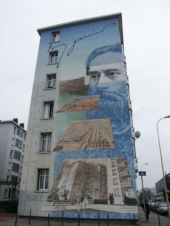 Murales a Lione in Francia