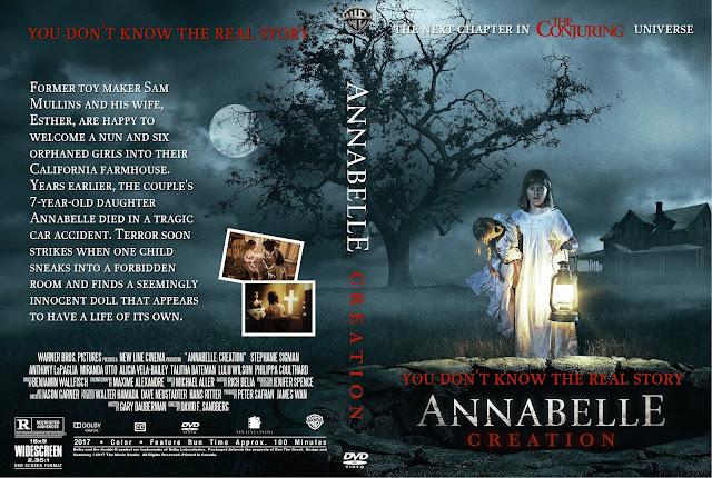 Annabelle: Creation DVD Cover