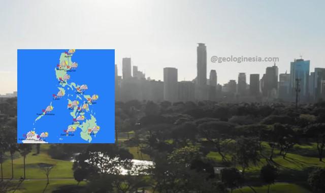 keadaan iklim negara filipina