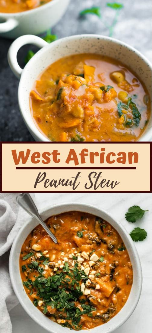 West African Peanut Stew #healthyrecipe #dinnerhealthy #ketorecipe #diet #salad