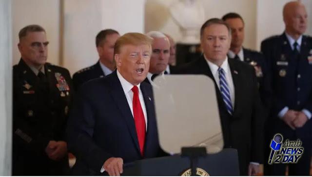 ترامب سنفرض عقوبات مالية قاسية على ايران بدلا من القتال ArabNews2Day