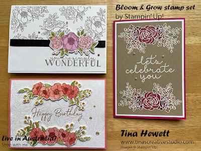 Bloom & Grow cards at www.tinascreativestudio.com