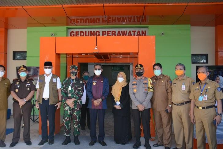 Pangdam Hasanuddin dan Kapolda Sulsel Apresiasi Diresmikannya Gedung Infection Center RSUD Sayang Rakyat dan RSUK Dadi Oleh Gubernur Sulsel