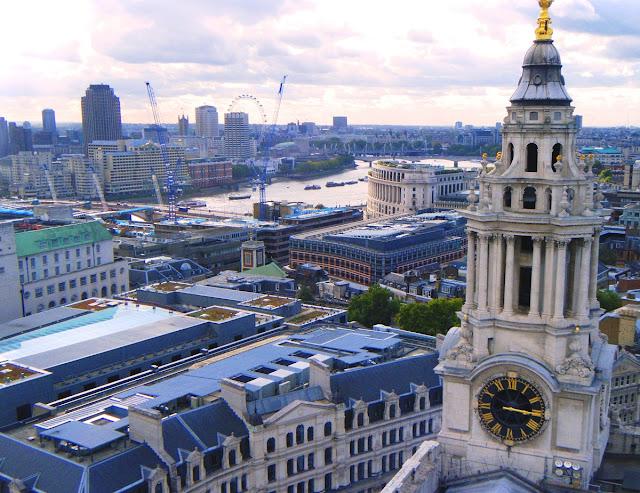 utsikt över London