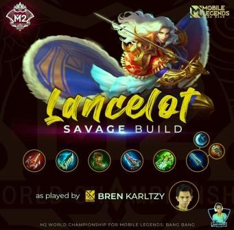 Savage Build Lancelot Tersakit di M2 Mobile Legend
