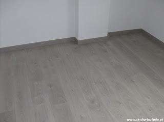 pavimento flutuante Basic Cinza Ac5