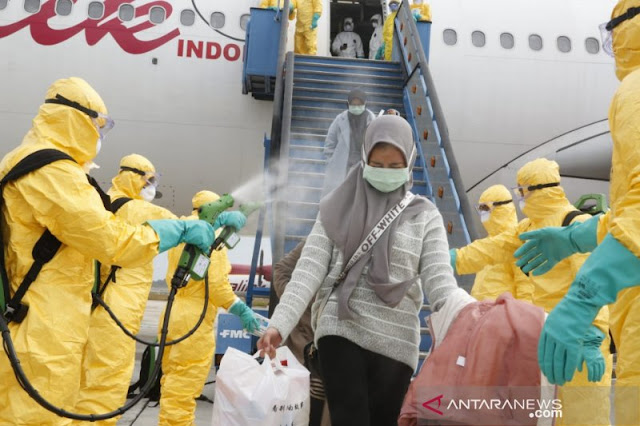 Menkes: 3 WNI di Wuhan Tak Lolos Screening, 4 Orang Tolak Pulang