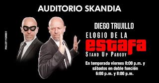 ELOGIO A LA ESTAFA por Diego Trujillo en Bogotá