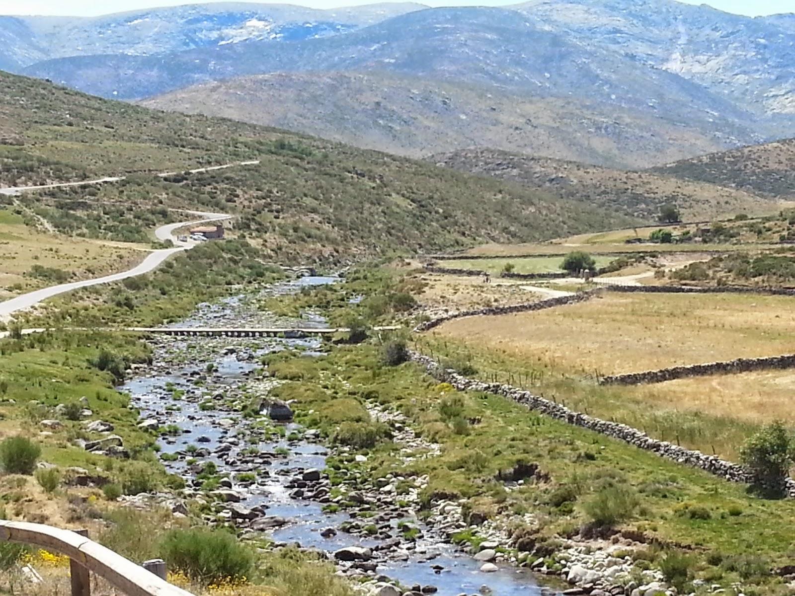 ruta en moto hasta el Circo de Gredos