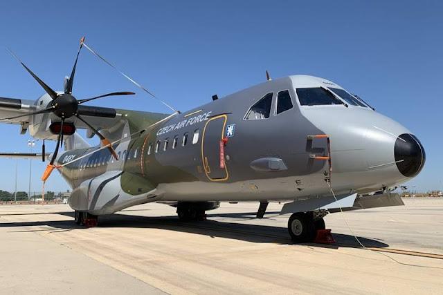 Czech Army receives Airbus C295MW