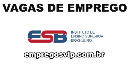 Vagas emprego EBS instituto de ensino superior brasileiro