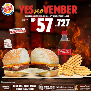 promo 11.11 burger king yesnovember