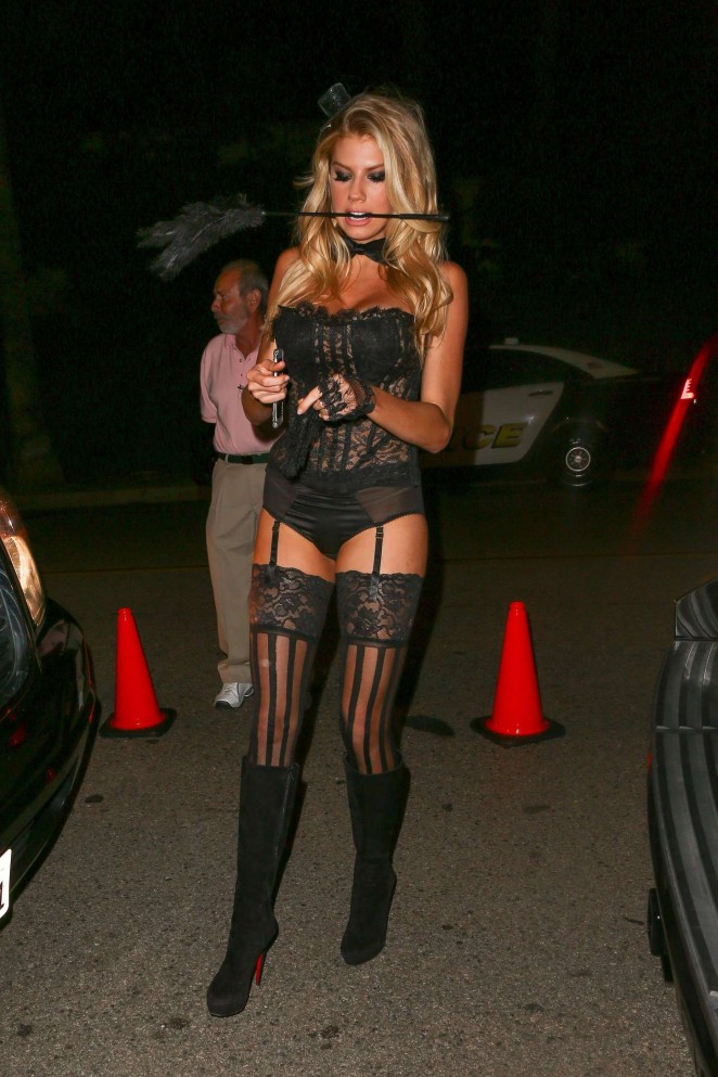 Charlotte McKinney – Casa Tequila Halloween Party in Beverly Hills