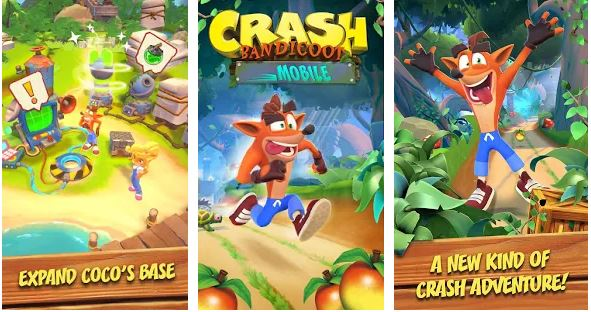 crash bandicoot mobile 2020