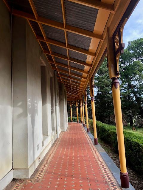 Coolart Homestead, Somers verandah