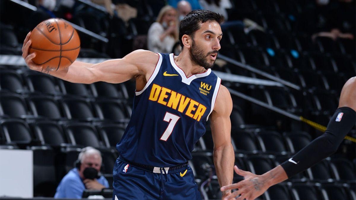 Denver Nuggets, con el argentino Facundo Campazzo, visita a Houston Rockets en la NBA