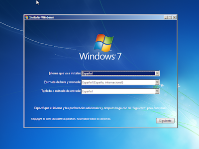 idioma y moneda windows 7