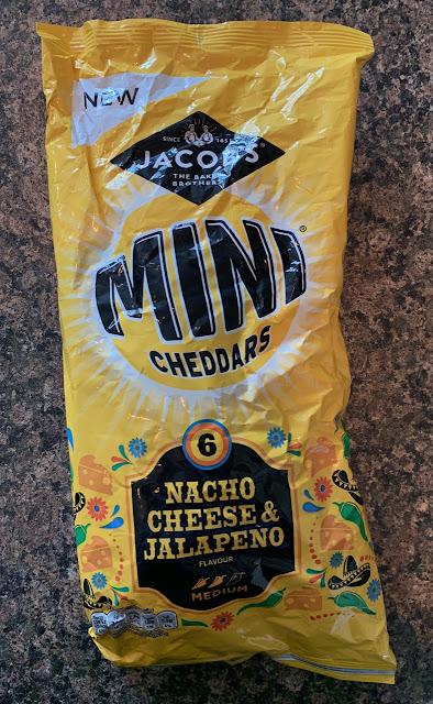Mini Cheddars - Nacho Cheese and Jalapeño