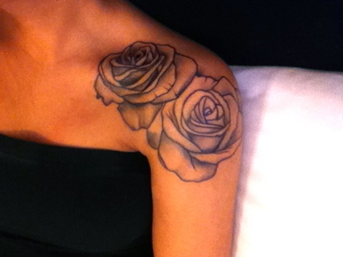 rose tattoo  arm women fashion  lifestyles
